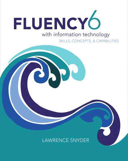 Fluency With Information Technology By Snyder, Lawrence